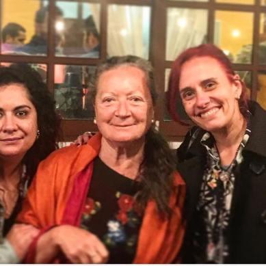 Con Elsa López y Alba Sabina