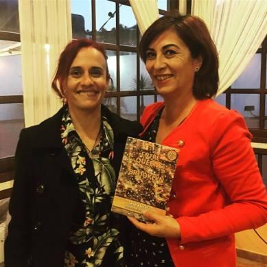 Con Isa Fuentes